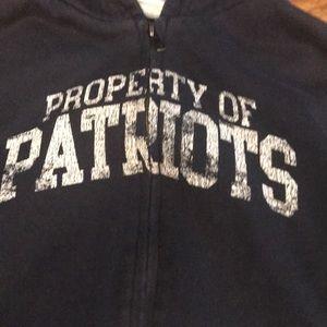 NFL Shirts & Tops - New England Patriots Vintage Full-Zip Sweatshirt